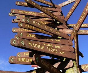 sign, travel, and world image