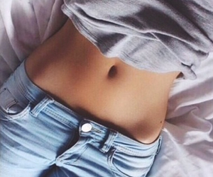 belly button, Hot, and tight pants image