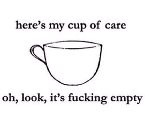 cup, empty, and care image