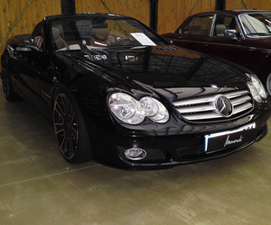 benz, car, and mercedes image