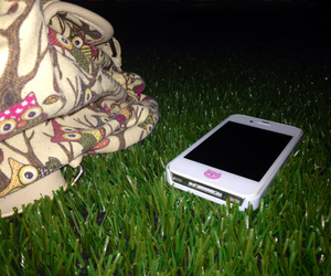 iphone grass relax image