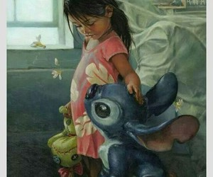disney, lilo, and paint image