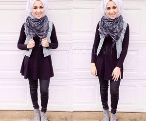beauty, fashionista, and hijab image