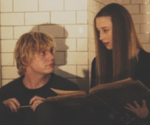 couple, evan peters, and header image