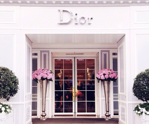 dior, luxury, and flowers image