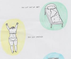 depressed, depression, and life image