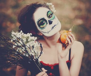 autumn, calavera, and day of the dead image