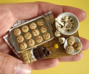 food, Cookies, and miniature image
