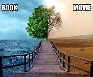 book, imagination, and movie image