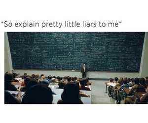 funny, pretty little liars, and pll image