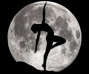 dance, moon, and ballet image