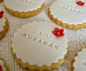 Cookies, eid, and eid mubarak image
