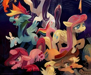 MLP, my little pony, and rainbow dash image
