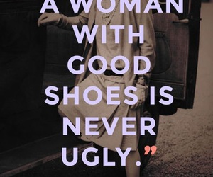 quote, chanel, and shoes image