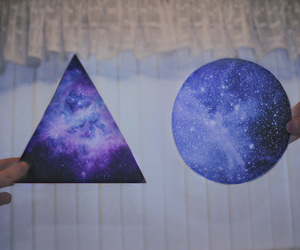 triangle, circle, and hipster image