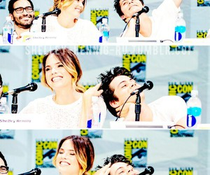 teen wolf, tyler hoechlin, and shelley hennig image