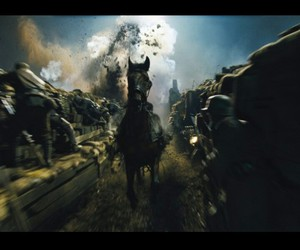 explosion, horse, and Joey image
