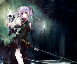 grim reaper and scythe image