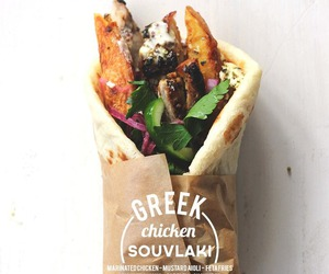 food, greek, and Chicken image