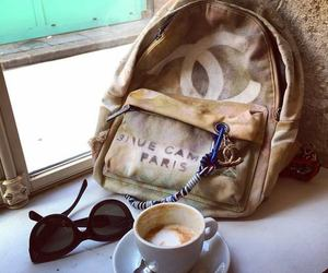 channel, coffee, and fashion image