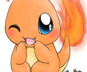 pokemon, cute, and charmander image