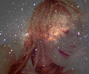 blonde, space, and young image