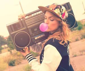 bubble gum, cap, and cool image