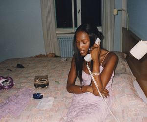 Naomi Campbell and photography image
