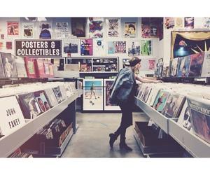 music, girl, and vintage image