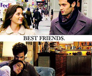 gossip girl, blair waldorf, and dan humphrey image