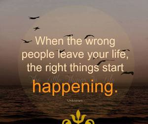 leave, life, and wrong image