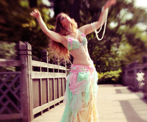 belly dance, bellydance, and gypsy image