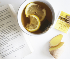 book, drink, and healthy image