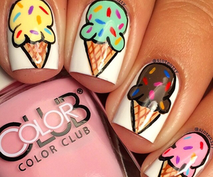 nails and ice cream image