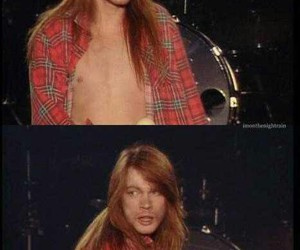 axl rose and gnr image