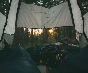 camping and travel image