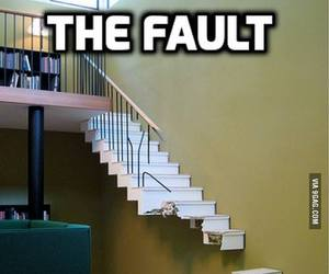 funny, stairs, and lol image