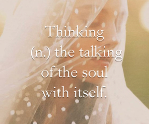 itself, talking, and quote image
