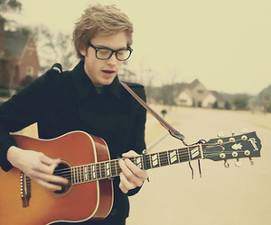 cameron mitchell, guitar, and boy image