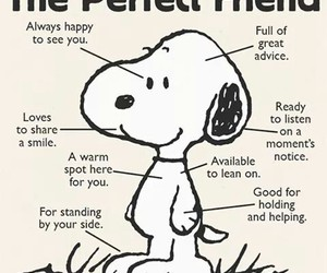 friends and snoopy image