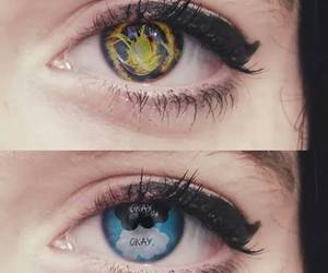 divergent, eyes, and the fault in our stars image