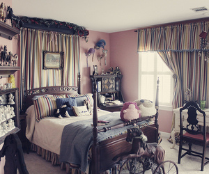 horse and bedroom image