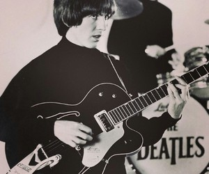 george harrison, 60's, and beatles image