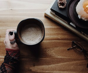 coffee, winter, and hipster image