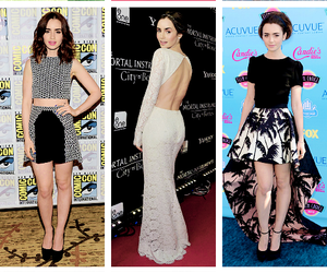 fashion and lily collins image