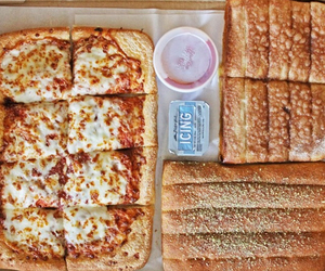 food, pizza, and pizza hut image