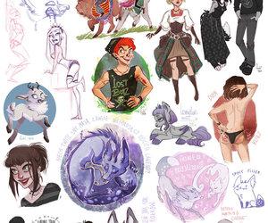 art, fukari, and draw image