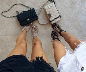 fashion, chanel, and heels image