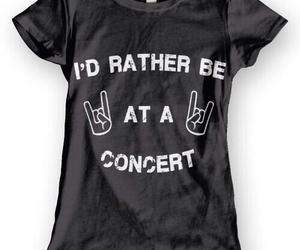 concert and shirt image
