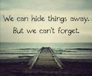 quotes, forget, and hide image